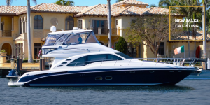 SWEET MELISSA Sea Ray 55-foot luxury yacht for sale with Merle Wood & Associates