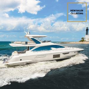 BARBATVIA 72 Azimut yacht for sale with Merle Wood & Associates