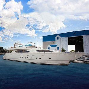 DANIELA 100' Azimut luxury superyacht for sale with Merle Wood & Associates