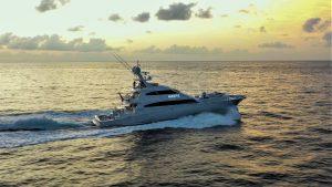 MARP P 122' Trinity luxury sportfish yacht for sale with Merle Wood & Associates