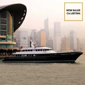 DOROTHEA III 147' Cheoy Lee luxury expedition yacht for sale with Merle Wood & Associates