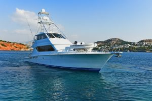 AMORE MIO 1 70' Hatteras sportfish yacht for sale with Merle Wood & Associates