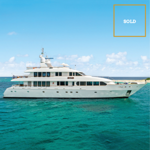 M4 132' Trident luxury superyacht SOLD by Merle Wood & Associates