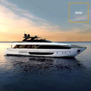 PANACEA 110' Riva Dolcevita luxury yacht SOLD by Merle Wood & Associates