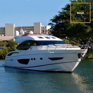 TT JAZZ 72' Princess luxury yacht SOLD by Merle Wood & Associates