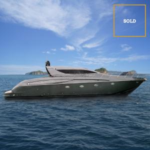 AMOS 72' Riva luxury yacht sold by Merle Wood & Associates