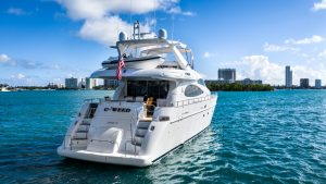 C-Weed 70' Azimut luxury yacht for sale with Merle Wood & Associates