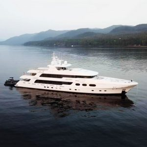 CHRISTENSEN HULL 038 luxury superyacht for sale with Merle Wood & Associates
