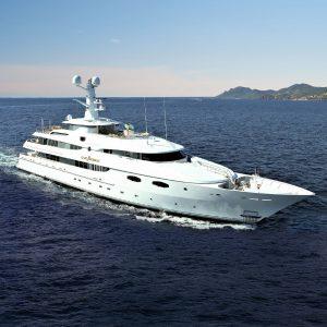 LADY SHERIDAN 190' Abeking & Rasmussen luxury superyacht for sale with Merle Wood & Associates