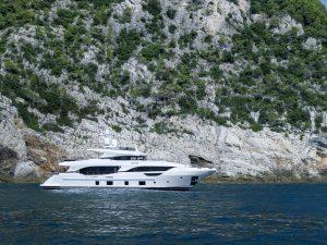 EURUS Benetti 95-foot Delfino luxury superyacht for sale with Merle Wood & Associates