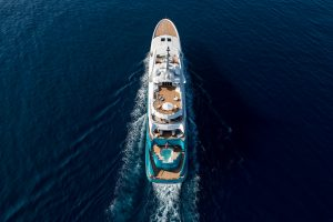 SUNRAYS 280 foot Oceanco luxury superyacht for sale with Merle Wood & Associates