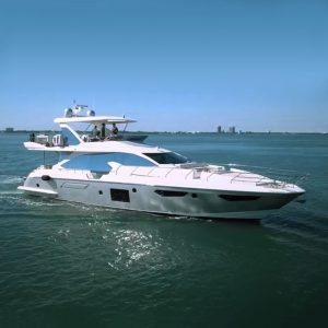 BARBATVIA 72-foot Azimut luxury yacht for sale with Merle Wood & Associates