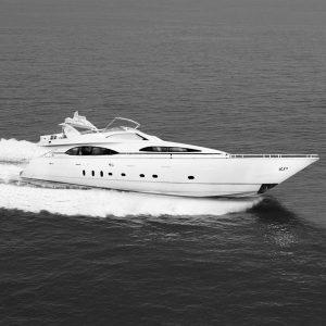 DANIELA 100-foot Azimut luxury superyacht for sale with Merle Wood & Associates