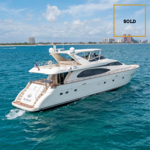 DAY DREAMIN' 85-foot Azimut luxury yacht SOLD by Merle Wood & Associates