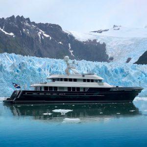 DOROTHEA III 147-foot Cheoy Lee explorer yacht for sale with Merle Wood & Associates