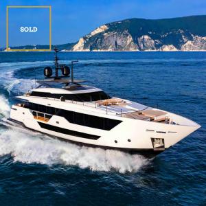 FALCON CA 108-foot Ferretti Custom Line superyacht sold by Merle Wood & Associates
