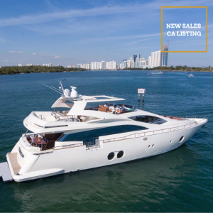BLUOCEAN 85-foot Aicon luxury superyacht for sale with Merle Wood & Associates