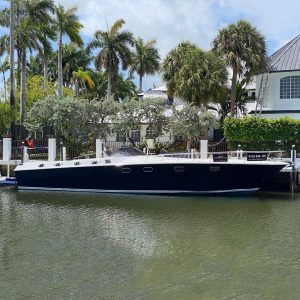 C-WEED II 53-foot Magnum luxury yacht for sale with Merle Wood & Associates