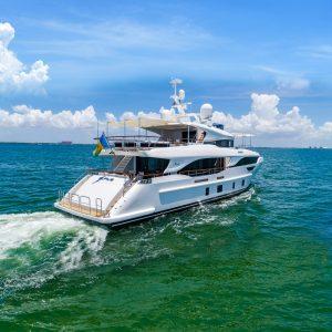 EURUS 95-foot Benetti Delfino luxury yacht for sale with Merle Wood & Associates