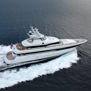 EXCELLENCE 153-foot Feadship yacht for sale with Merle Wood & Associates
