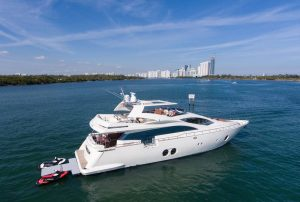 BLUOCEAN 85-foot Aicon luxury yacht for sale with Merle Wood & Associates
