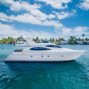 C-WEED 70 foot Azimut luxury yacht for sale with Merle Wood & Associates