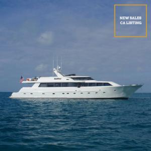 GALILEE 106-foot Westship luxury superyacht for sale with Merle Wood & Associates