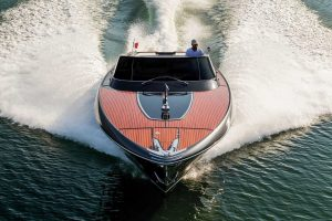 RIVAMARE 38-foot Riva luxury yacht for sale with Merle Wood & Associates