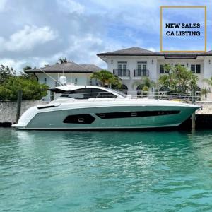 SEA ESTA 43-foot Azimut Atlantis luxury yacht for sale with Merle Wood & Associates