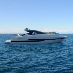 WATER JUMP II 70-foot Baia luxury yacht for sale with Merle Wood & Associates