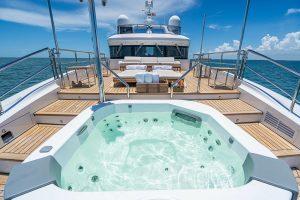 EURUS 95-foot Benetti luxury yacht for sale with Merle Wood & Associates