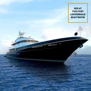 DOROTHEA III 147-foot Cheoy Lee luxury superyacht 2021 Fort Lauderdale Boat Show
