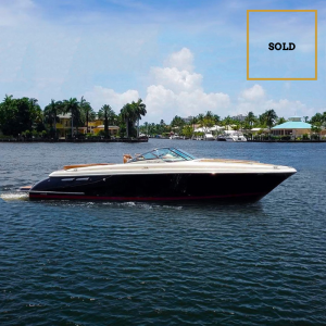 MIKINI 36-foot Chris Craft luxury yacht SOLD by Merle Wood & Associates