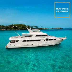 OCEAN DRIVE 125-foot Broward luxury superyacht for sale with Merle Wood & Associates